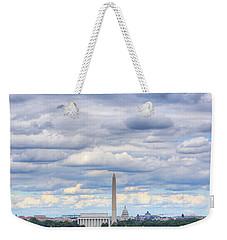 Clouds Over Washington Dc Weekender Tote Bag