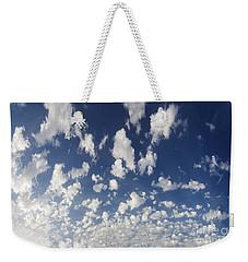 Cloudy Sky Weekender Tote Bag