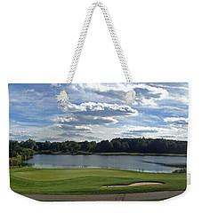 Club House Panorama Weekender Tote Bag