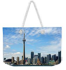 Cn Tower Weekender Tote Bag
