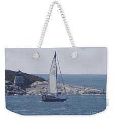 Coastal Newport Ri  Weekender Tote Bag