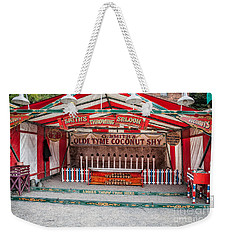 Weekender Tote Bag featuring the photograph Coconut Shy by Adrian Evans