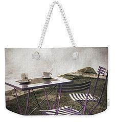 Coffee Table Weekender Tote Bag
