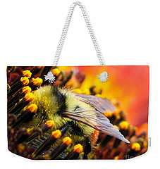 Collecting Pollen Weekender Tote Bag by Vivian Christopher