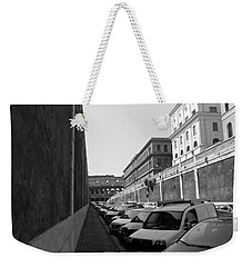 Weekender Tote Bag featuring the photograph Colliseum by Laurel Best