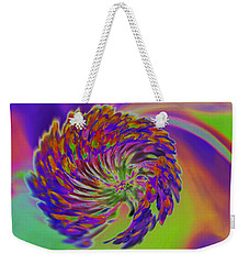 Weekender Tote Bag featuring the photograph Color Splash by Cindy Manero