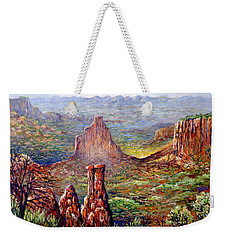 Colorado National Monument Weekender Tote Bag by Lou Ann Bagnall