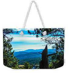 Weekender Tote Bag featuring the photograph Colorado View by Shannon Harrington