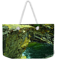 Colored Rocks  Weekender Tote Bag by Jeff Swan