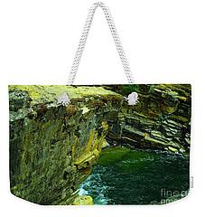 Colored Rocks  Weekender Tote Bag by Jeff Swan