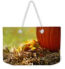 Weekender Tote Bag featuring the photograph Colorful Autumn by Nava Thompson