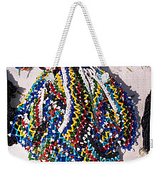 Colorful Beads Jewelery Weekender Tote Bag