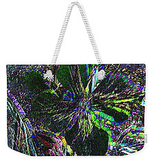 Weekender Tote Bag featuring the photograph Colorful by Donna Brown