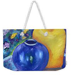 Colorful Jars Weekender Tote Bag