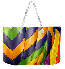 Colors 5 Weekender Tote Bag