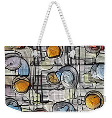 Colors Fighting To Get Out Weekender Tote Bag by Alec Drake