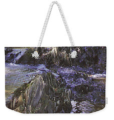 Colors In The Stream Weekender Tote Bag