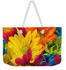 Colossal Colors Weekender Tote Bag