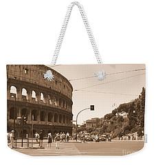 Colosseum In Sepia Weekender Tote Bag