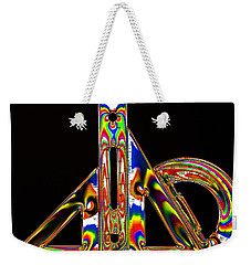 Weekender Tote Bag featuring the photograph Colourful Geometry by Steve Purnell