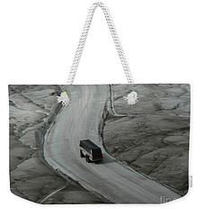 Weekender Tote Bag featuring the photograph Columbia Icefield Glacier Adventure by Laurel Best