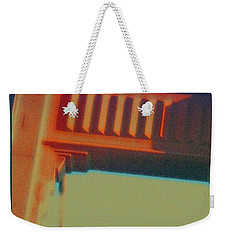 Weekender Tote Bag featuring the digital art Coming In by Richard Laeton