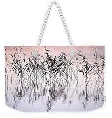 Common Reeds Weekender Tote Bag by Jouko Lehto