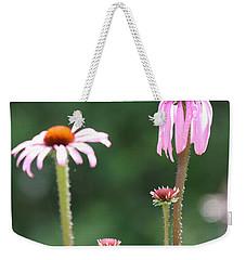Coneflowers And Butterfly Weekender Tote Bag