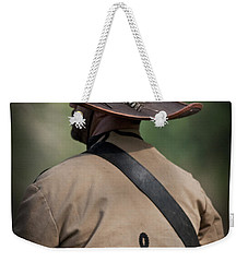 Confederate Cavalry Soldier Weekender Tote Bag by Kim Henderson