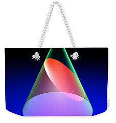 Conic Section Ellipse 6 Weekender Tote Bag