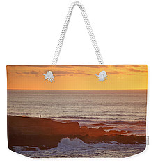Weekender Tote Bag featuring the photograph Contemplation by Susan Rovira