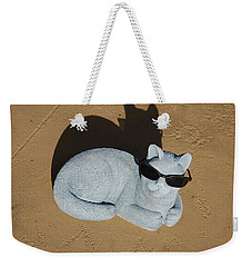 Cool Cat Weekender Tote Bag by Aimee L Maher Photography and Art Visit ALMGallerydotcom