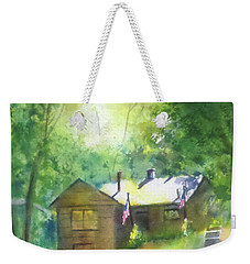 Cool Colorado Cabin Weekender Tote Bag
