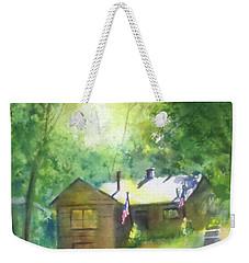 Cool Colorado Cabin Weekender Tote Bag