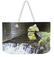 Weekender Tote Bag featuring the photograph Corbetts Glen by William Norton