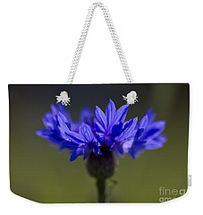 Cornflower Blue Weekender Tote Bag