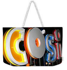 Cosi In Neon Lights Weekender Tote Bag