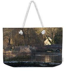 Cotswold River Scene Weekender Tote Bag