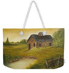 Country Cabin Weekender Tote Bag
