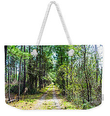 Weekender Tote Bag featuring the photograph Country Path by Shannon Harrington