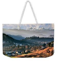 Countryside. Slovenia Weekender Tote Bag