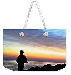 Cowboy Sunrise Weekender Tote Bag