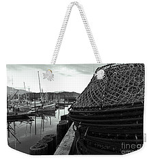 Crab Traps Weekender Tote Bag by Darcy Michaelchuk