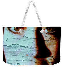 Crackled View Weekender Tote Bag