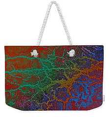 Cracks Weekender Tote Bag