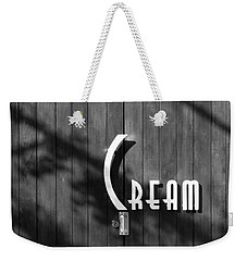 Cream Weekender Tote Bag by Jeannette Hunt