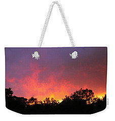 Weekender Tote Bag featuring the photograph Crepuscule by Bruce Patrick Smith