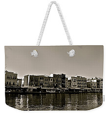 Weekender Tote Bag featuring the photograph Crete Reflected by Eric Tressler