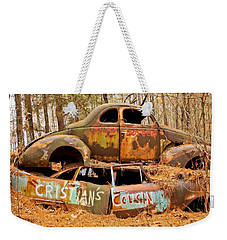 Cristian's Cousin Weekender Tote Bag