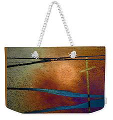 Crossroads Weekender Tote Bag by Lenore Senior